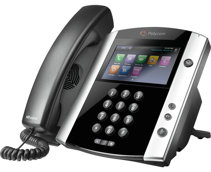 POLYCOM VVX 600 10-LINE IP PHONE