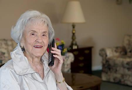 Senior Telephone Service